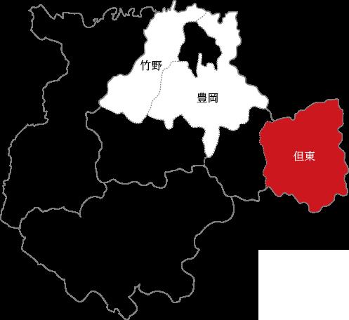 但東の地図